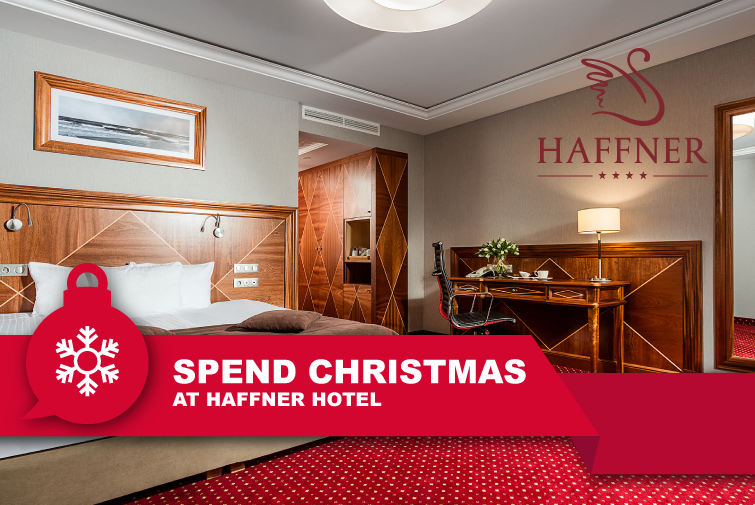 Spend Christmas time at Haffner Hotel