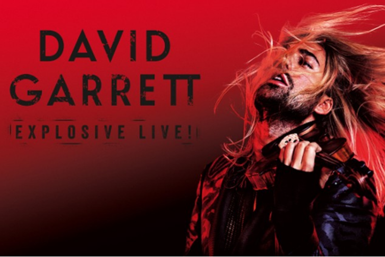 David Garrett in ERGO ARENA