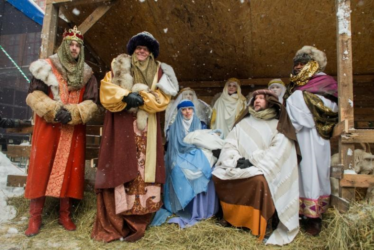The Procession of the Three Kings