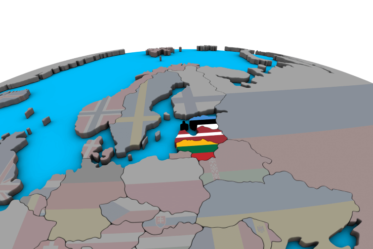 Lithuania, Latvia, Estonia and… Gdansk
