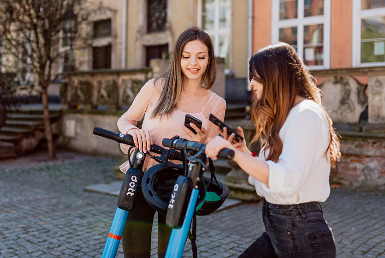 Discover Gdańsk with 2x free Dott e-scooter rides