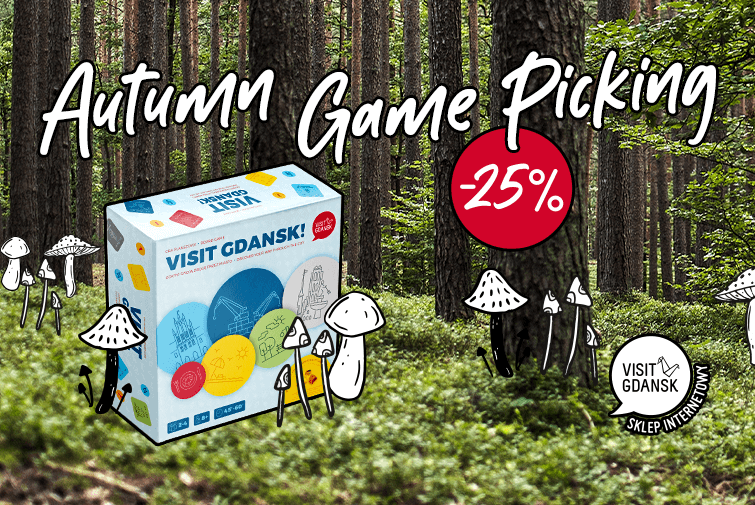 Autumn board game madness. 25% off!