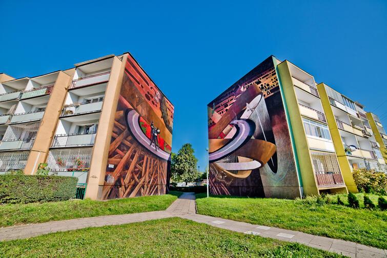 Kolleksjonen av monumentale malerier – Gdansk-Zaspa