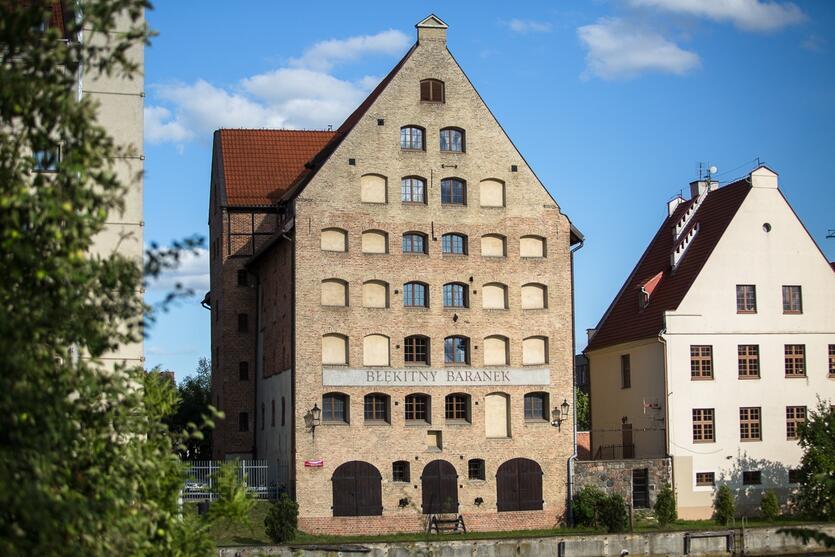 Spichlerz Błękitny Baranek - siedziba Muzeum Archeologicznego