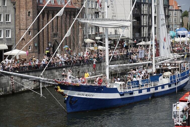 Czas ruszyć w rejsy – Baltic Sail Gdańsk już po raz XX!
