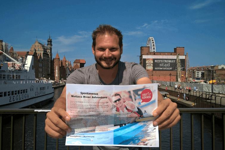 5 dni, 5 zadań, 1 człowiek! Bjorn Troch poznaje Gdańsk!