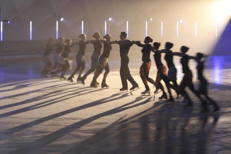 Otwarcie lodowiska na Placu Zebrań Ludowych