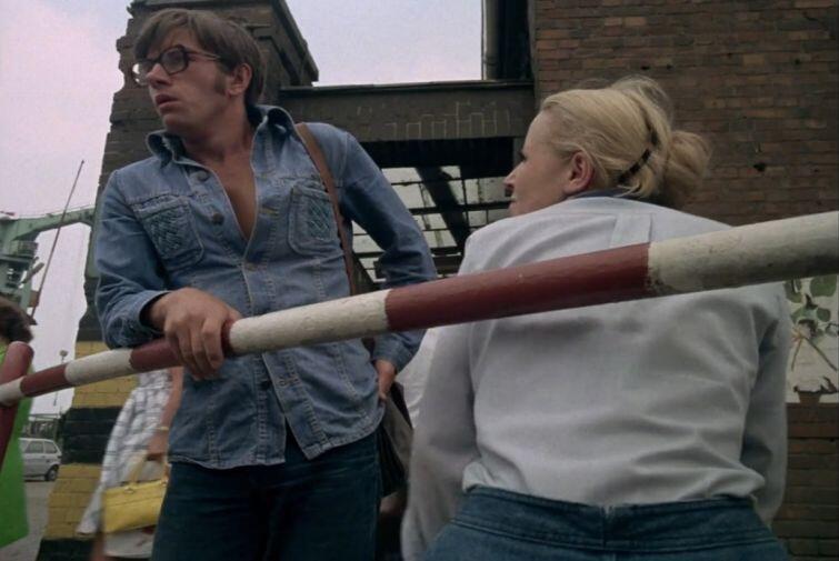 Kadr z filmu 'Człowiek z marmuru'