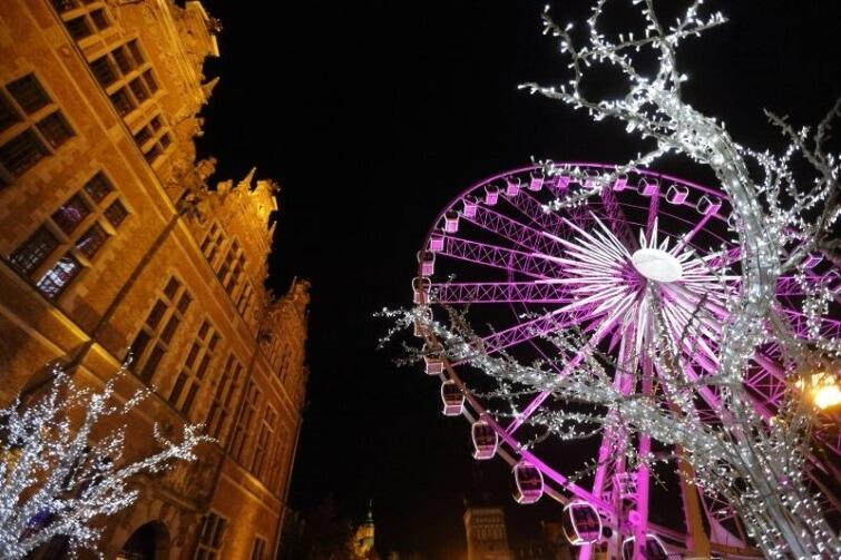 Amber Sky w świątecznej odsłonie na Targu Węglowym