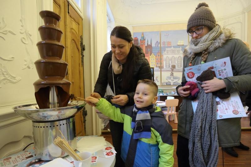 Fontanna czekolady od ZPC Bałtyk