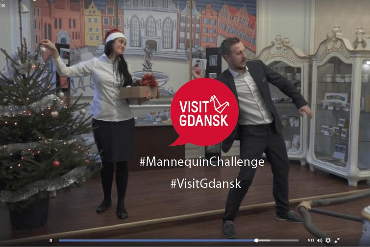 Visitgdansk #mannequinchallenge. Kto podejmie rękawicę?