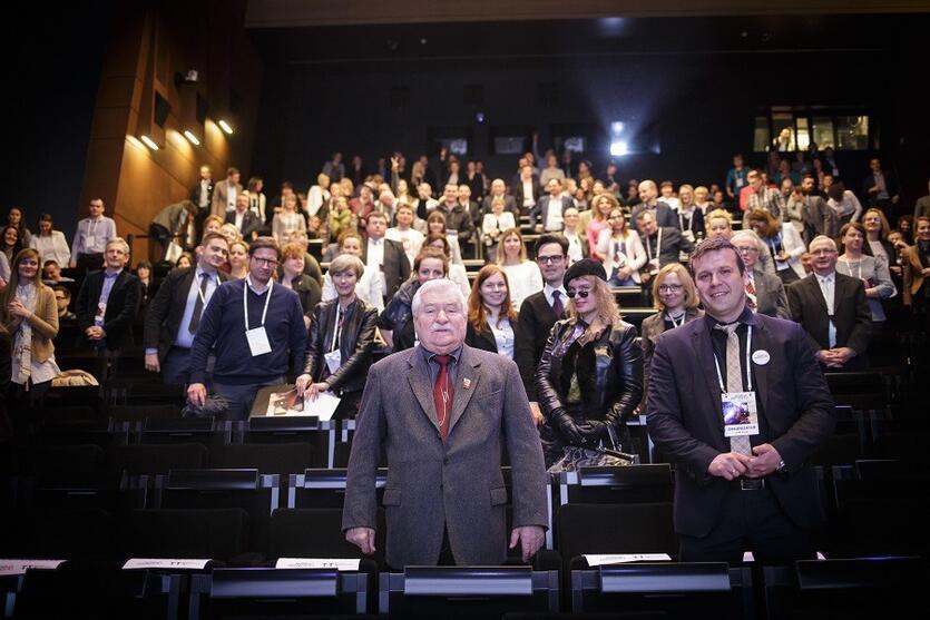 Nowe Trendy w Turystyce 2016 - gość specjalny - prezydent Lech Wałęsa
