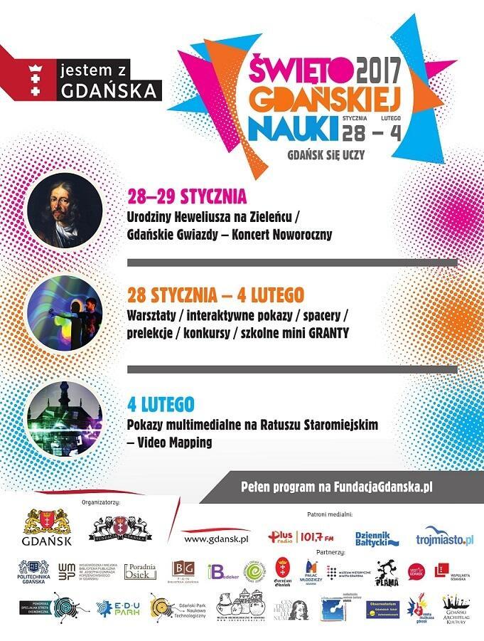 Plakat Święta Gdańskiej Nauki