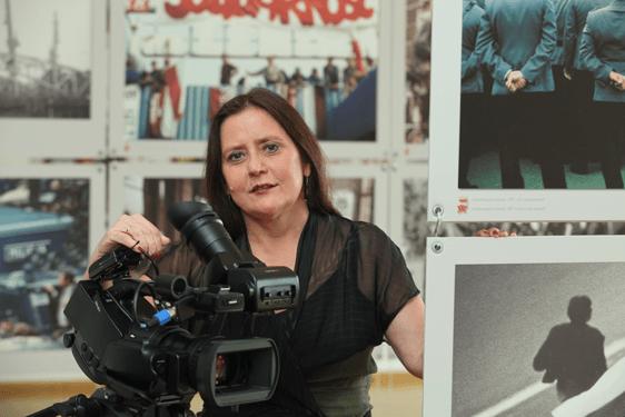 Szlakiem filmowym przez Europejskie Centrum Solidarności