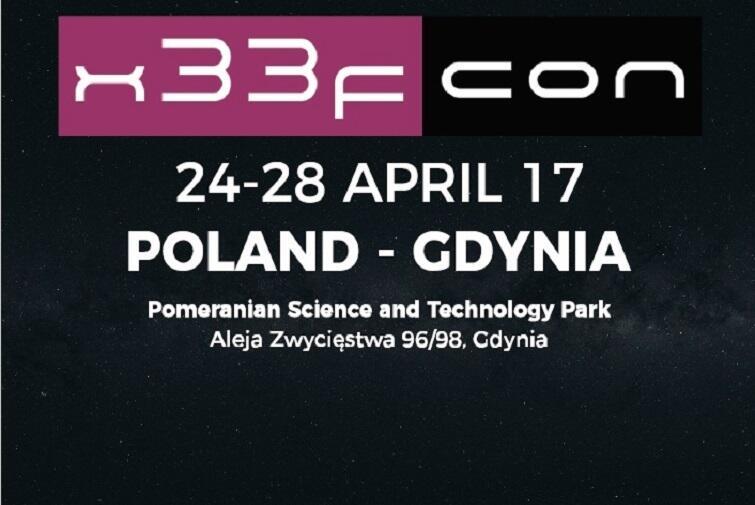 Konferencja x33fcon - bądź bezpieczeny w sieci