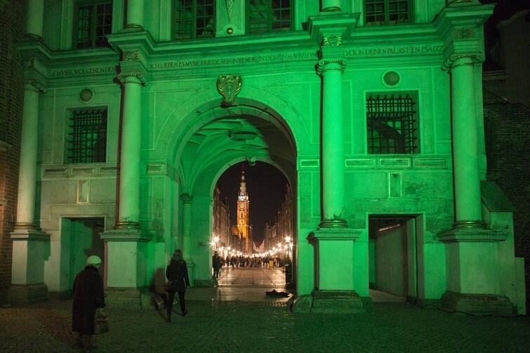 Gdańsk częścią Global Greening! Zazieleni się na Dzień Św. Patryka