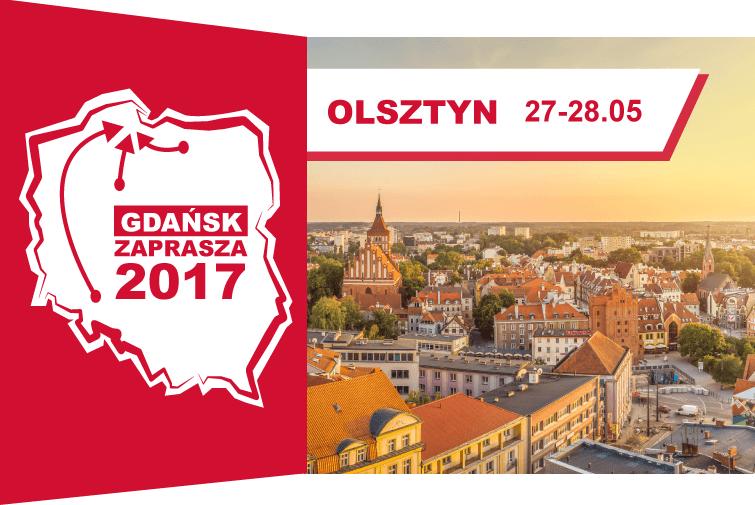 Gdańsk zaprasza w Olsztynie – już w weekend 27-28 maja!