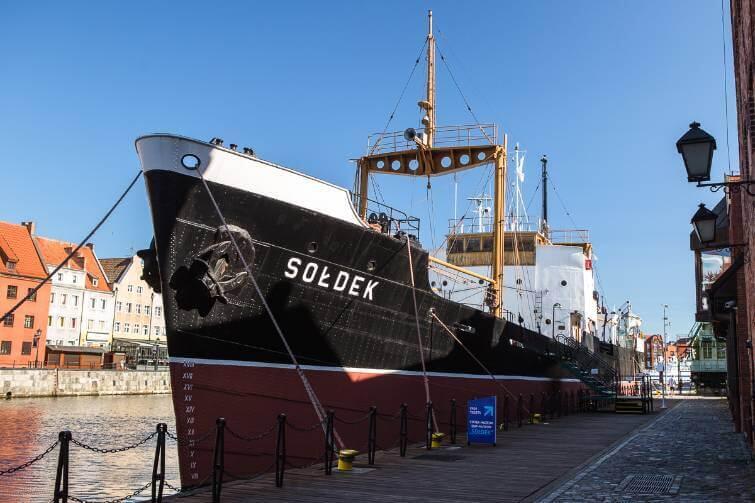 Sołdek - statek muzeum