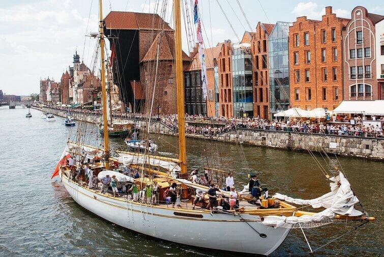 Ahoj! Nadpływa Baltic Sail 2017