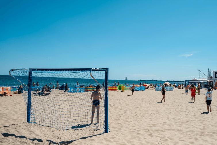 Plaża Gdańsk - Jelitkowo