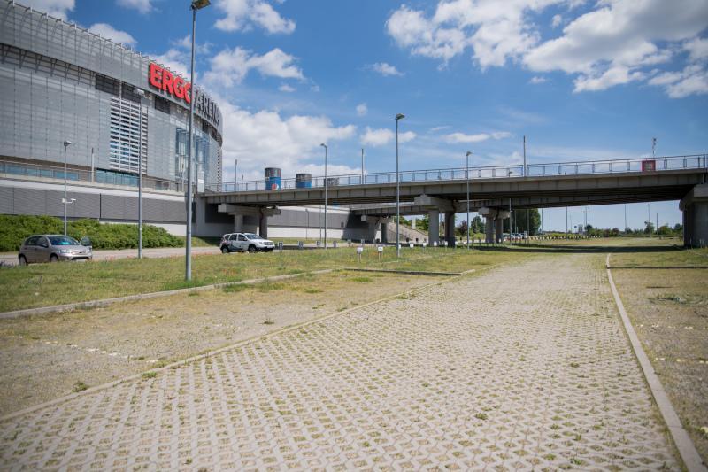 Parking przy Ergo Arenie pomieści nawet 700 aut