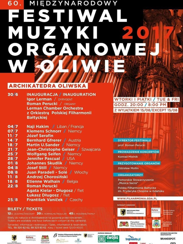 Plan koncertów organowych