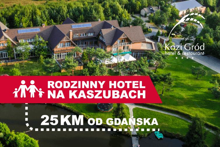 Hotel Kozi Gród / Pomlewo