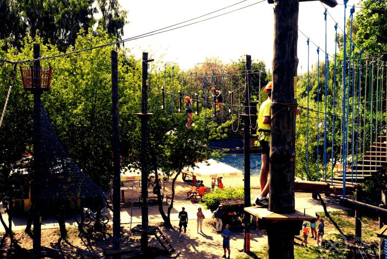 Park Linowy Port Brzeźno