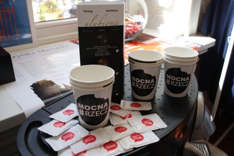 Kawa w Gdańskim Centrum Informacji Turystycznej