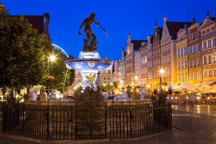 Gdańsk bynajmniej nie jest szarym i nudym miastem stoczniowym