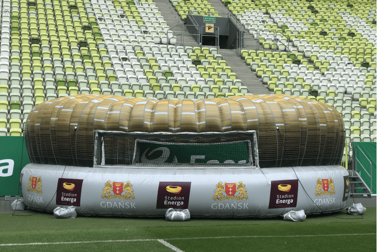 Dmuchany Stadion Energa Gdańsk