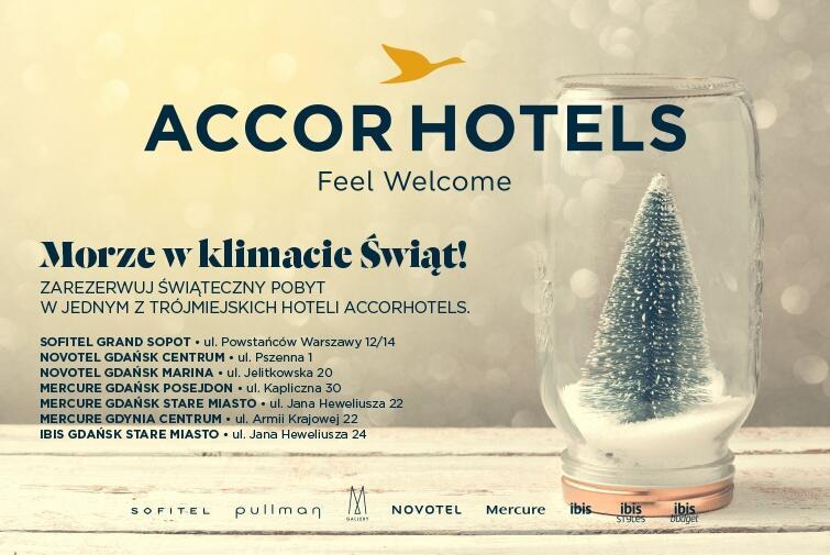 Święta w hotelach ACCOR