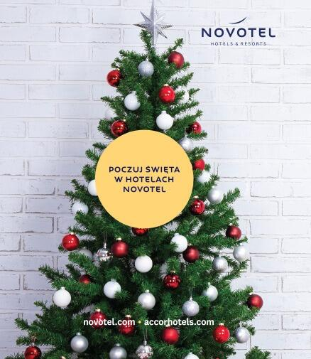 Święta i Sylwester w hotelu Novotel Gdańsk Marina