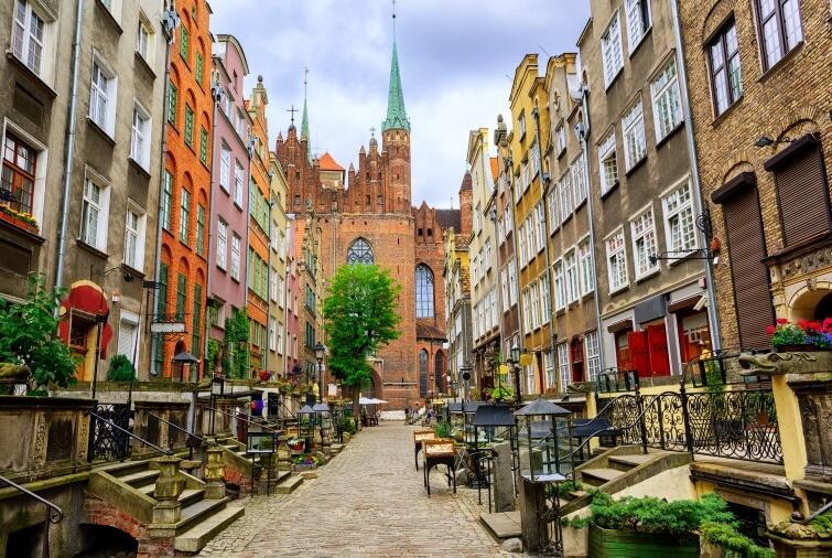 Lonely Planet spaceruje po Gdańsku