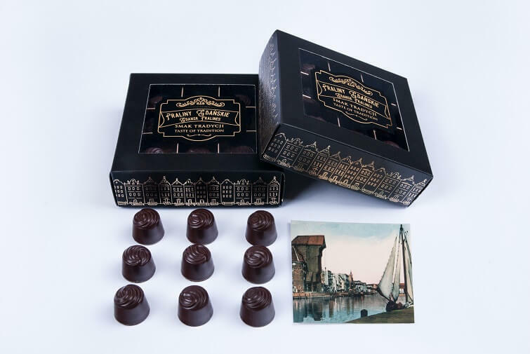 Ekskluzywne PRALINY GDAŃSKIE dołączają do linii gdańskich słodyczy!