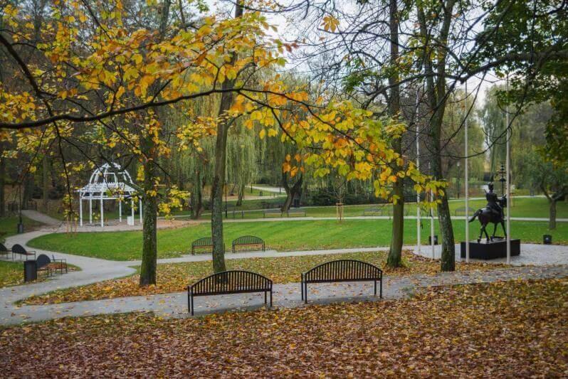 Park Oruński po rewitalizacji