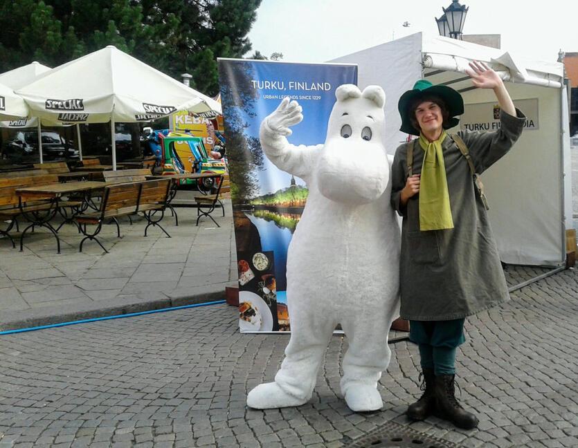 Muminki w Gdańsku