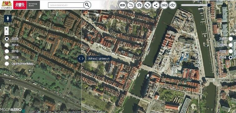 Mapa to praktyczne narzędzie do śledzenia zmian zachodzących w Gdańsku