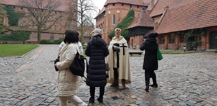 W regionie goście odwiedzili m.in. Zamek w Malborku