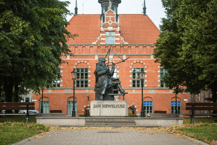 Pomnik Jana Heweliusza