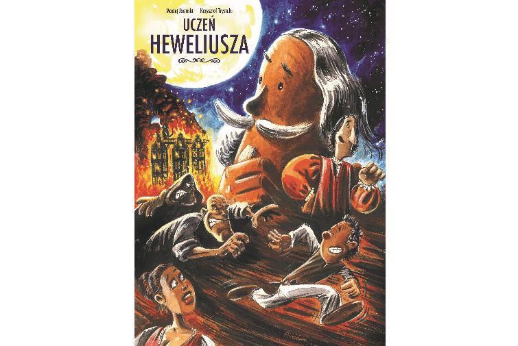 Komiks Uczeń Heweliusza