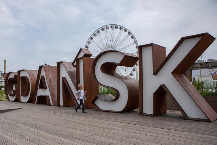 Gdańsk-napis