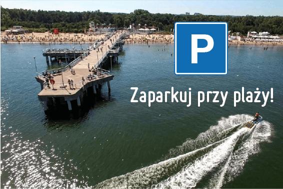 Zaparkuj przy plaży