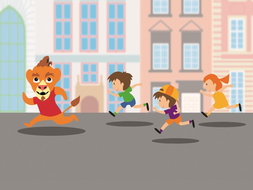spacer śladami lwów