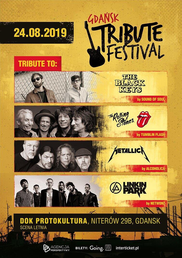 Plakat Gdańsk Tribute Festival 2019