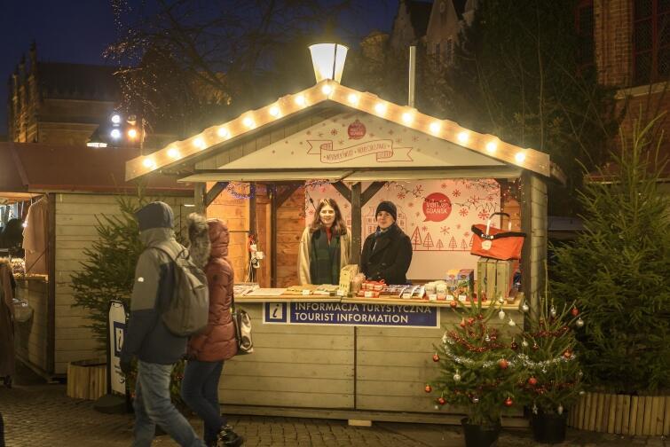 Informacja Turystyczna na Jarmarku Bożonarodzeniowym