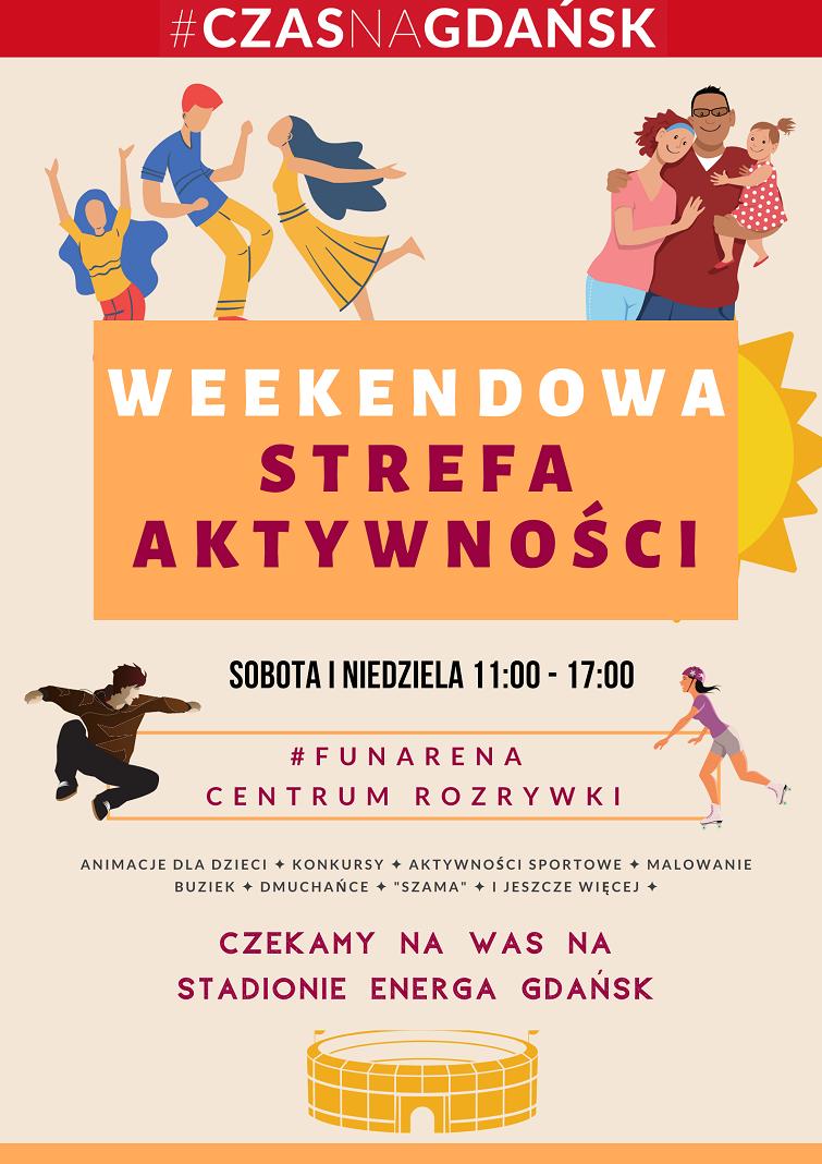 Weekendowa strefa aktywności plakat 1