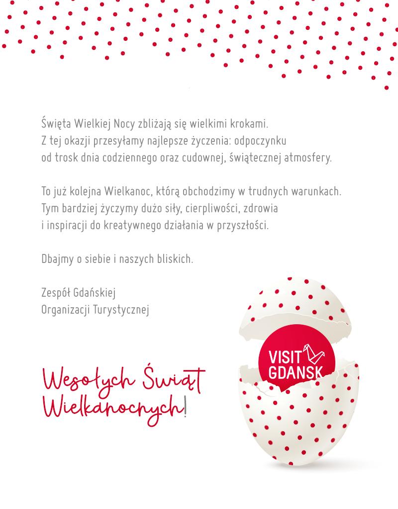 Życzenia Wielkanocne od Gdańskiej Organizacji Turystycznej