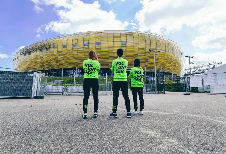 Wolontariat Gdańsk - Finał Ligi Europy 2021
