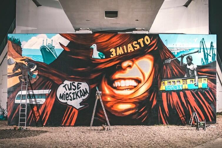 Mural Trójmiasto 2021